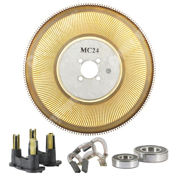 Photo of Spares Kit for Parvex MC24P Motors Incl. Brushes, Disc, Bearing Set