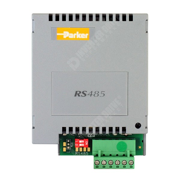 Photo of Parker SSD RS422, RS485, Modbus RTU & EI Bisynch Comms Card for 690 Sizes C to K - 6055-EI00-00