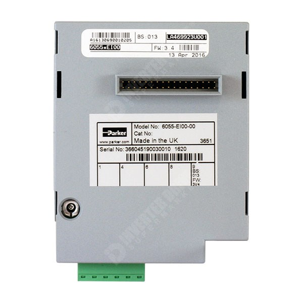Parker SSD RS422, RS485, Modbus RTU & EI Bisynch Comms Card for 690 Sizes C  to K - 6055-EI00-00