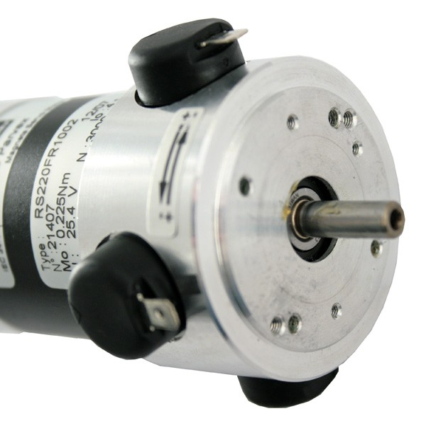 Parvex Rs220f R1100 Dc Servo Motor And Tacho Brushed