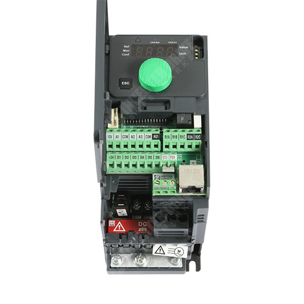 Schneider ATV320 0 75kW 230V 1ph to 3ph AC Inverter Drive, STO, DBr, C3 EMC