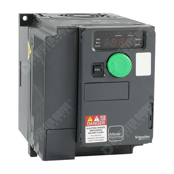 Schneider ATV320 1 5kW 230V 1ph to 3ph AC Inverter Drive, STO, DBr, C3 EMC