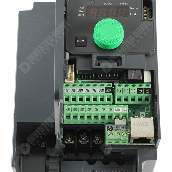 Schneider ATV320 IP20 1 1kW 400V 3ph AC Inverter Drive, STO, DBr, C3 EMC