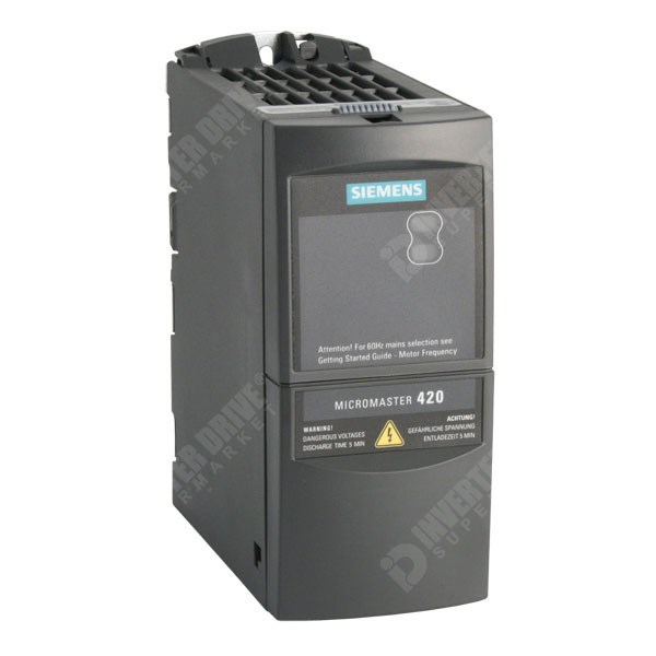 Siemens micromaster 420 drive faults and alarms.