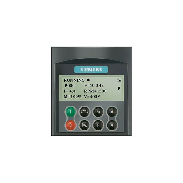 Photo of Siemens Micromaster 420 and 440 Advanced Operator Panel (AOP)