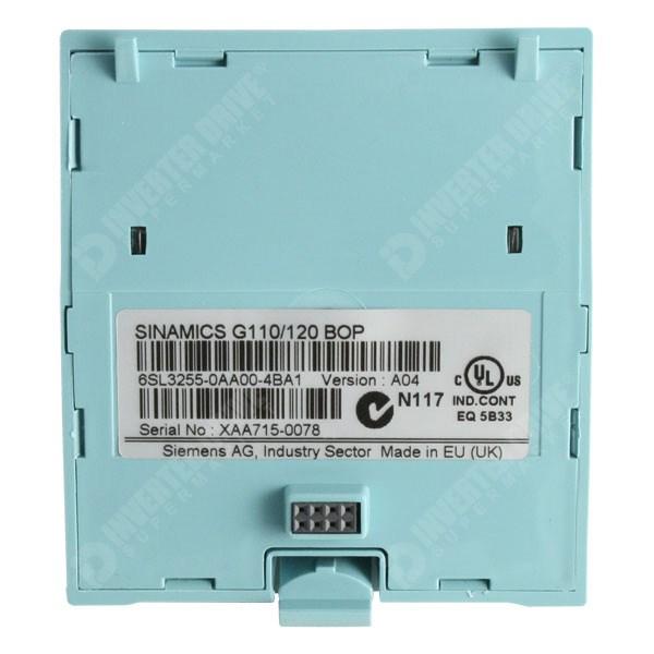 Siemens Sinamics Operator Panel 6SL3255-0AA00-4BA1 BOP für G110