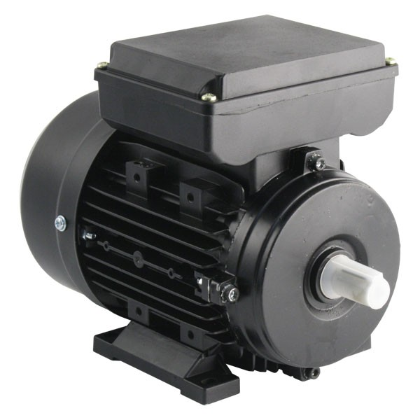 Photo of TEC - 230V Single Phase Motor 0.55kW (0.75HP) Cap Run 2P 71F Foot
