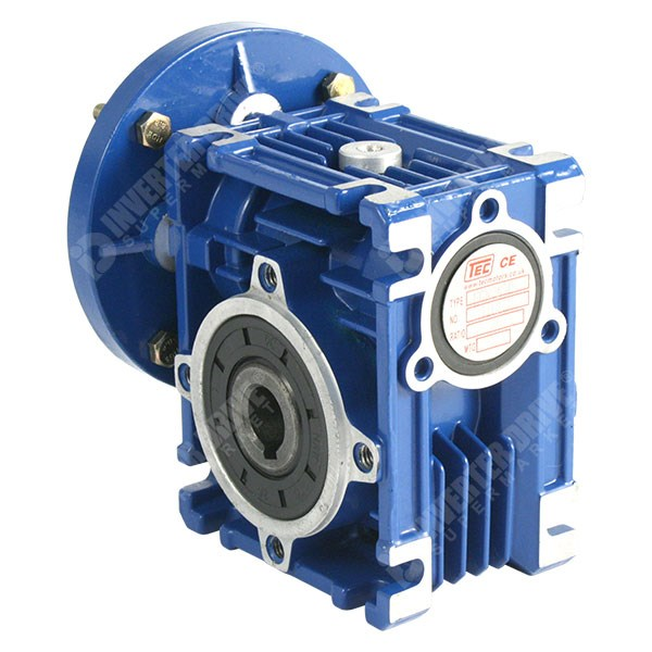 TEC 0 12kW x 135RPM 10:1 Worm Gearbox for 4 Pole 63 Frame B14 Motor