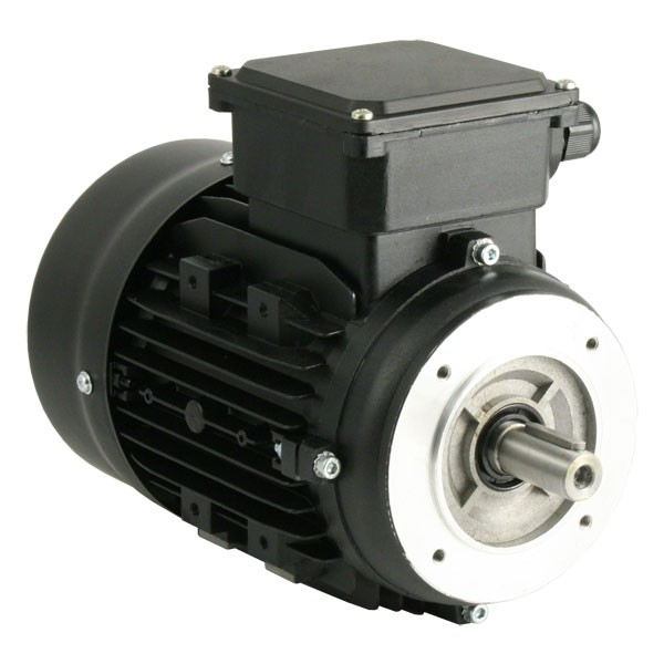 Photo of TEC - 230V Single Phase Motor 0.55kW (0.75HP) Cap Run 2P 71F Face