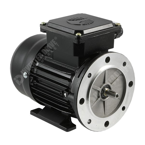 Photo of TEC Electric 0.12kW (0.16HP) 2 Pole AC Induction Motor 3ph