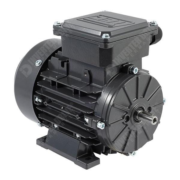 0.18KW-3.7KW 2 poste /& 4 poste de una sola fase Motor Eléctrico 240V Perm Cap