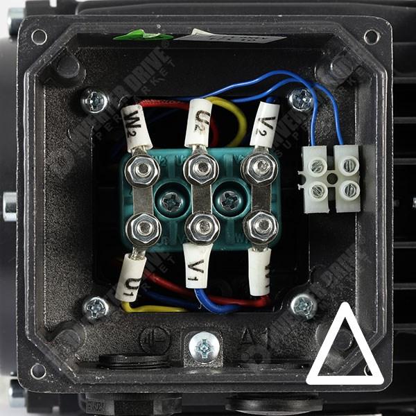 Tec Ie1 0 18kw Aluminium Three Phase Motor 230v 400v 4