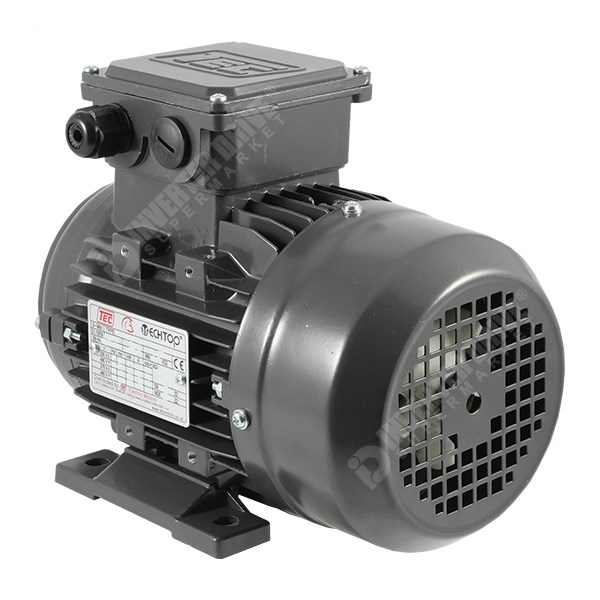 Tec Electric Ie2 1 5hp 2 Pole Ac Induction Motor