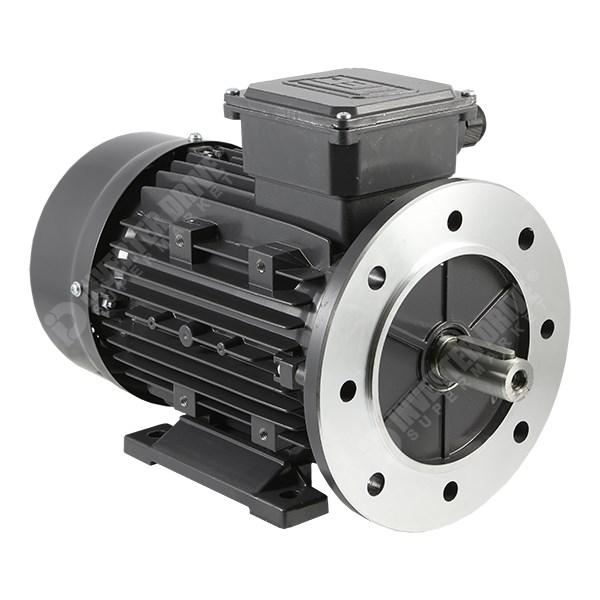 Tec ie2 2hp 4 pole ac motor 230v 400v b35 foot for 1 4 hp ac motor