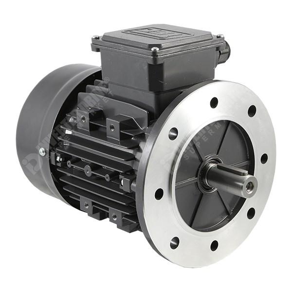 Tec ie2 2hp 2 pole ac motor 230v 400v b5 flange for Flange mounted motor catalogue