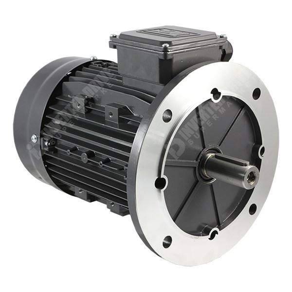 Tec ie2 3hp 4 pole ac motor 230v or 400v b5 flange for 100 hp electric motor price