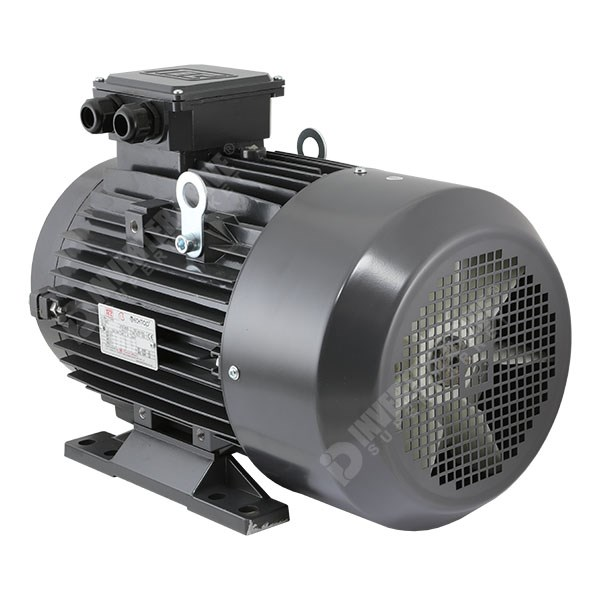Tec electric ie2 11kw 15hp 4 pole ac induction motor for 3 phase 4 pole ac induction motor