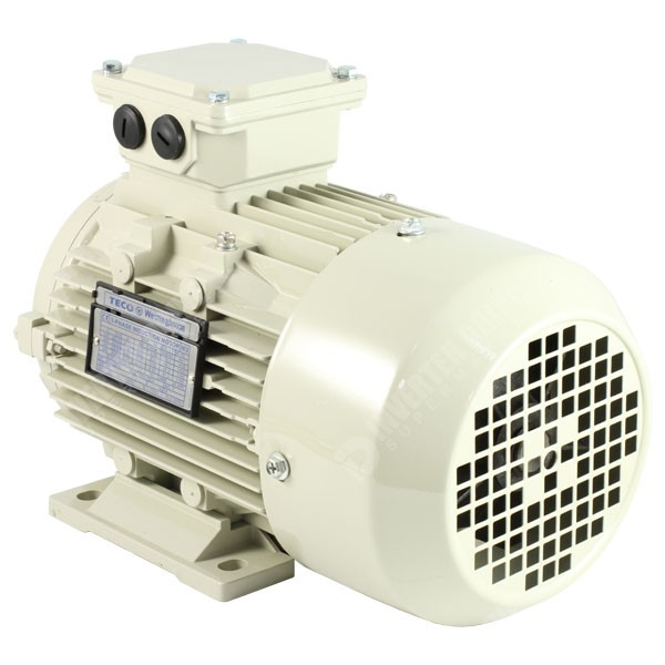 Teco Ie2 1hp 2 Pole Ac Induction Motor 230v Or