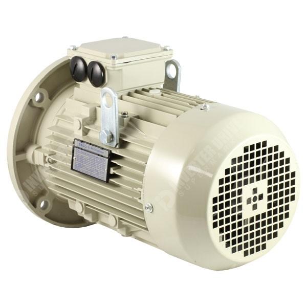 Teco Ie2 3hp 4 Pole Ac Motor 230v 400v B5 Flange