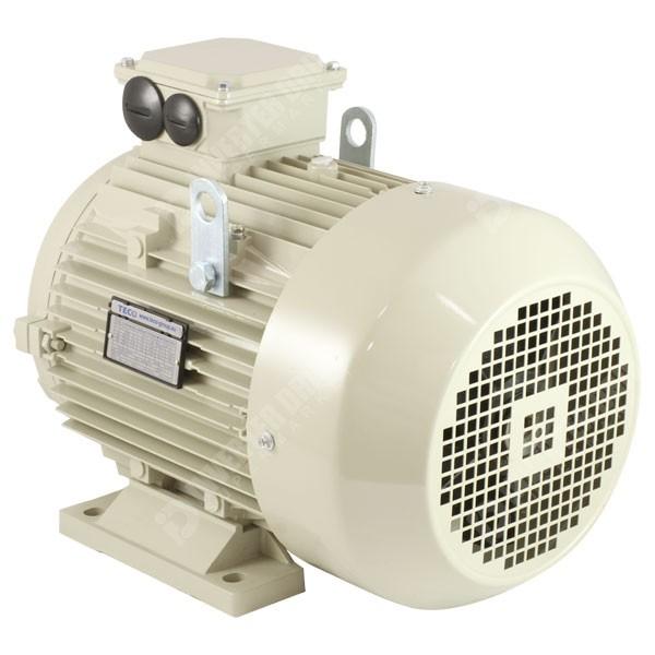 Teco ie2 7 5hp 4 pole ac induction motor 400v b3 for 3 phase 4 pole ac induction motor