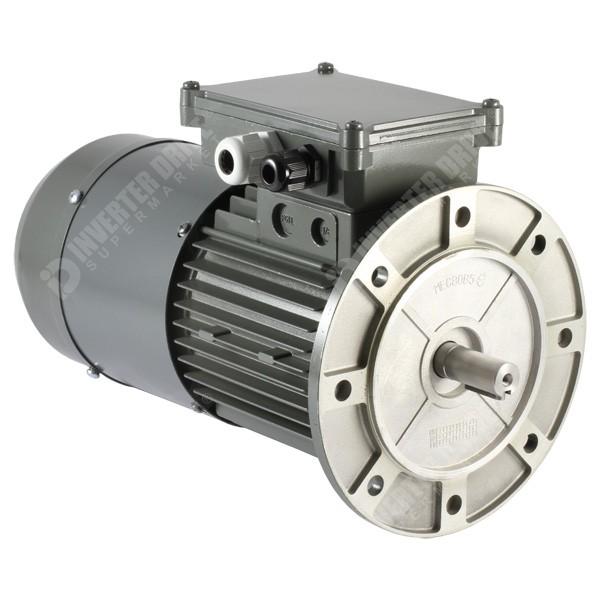 Vascat 1hp X 1400rpm 2730rpm Ac Vector Motor