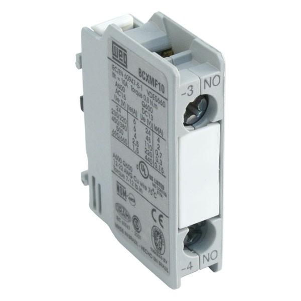 WEG CWM18 - 18A/32A 7.5kW/15kW 3 Pole Contactor, 1NO+1NC Aux, 110V on