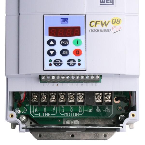 weg cfw 08 a1 plus 7 5kw 400v ip20 ac inverter drive ac inverter rh inverterdrive com weg cfw 08 vector inverter plus manual 3DS CFW