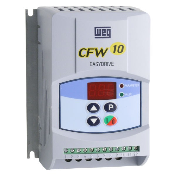 Photo of WEG CFW-10 - 0.18kW 230V 1ph to 3ph Cold Plate AC Inverter Drive Speed Controller