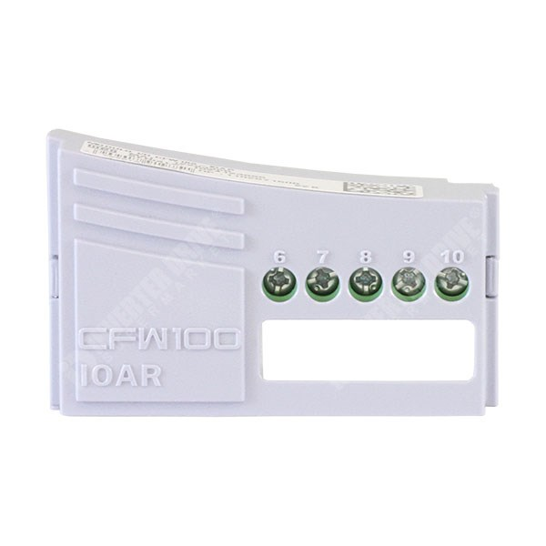 Photo of WEG CFW100-IOAR Expansion Module (1 x AI, 1 x DO) for CFW100 Inverter