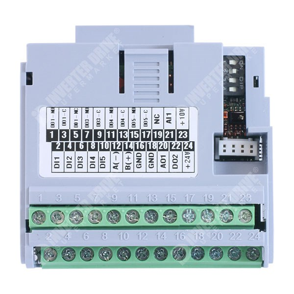 WEG CFW500-IOR - I/O Module with Extended Relay Outputs for CFW500 -  Accessories for AC Drives