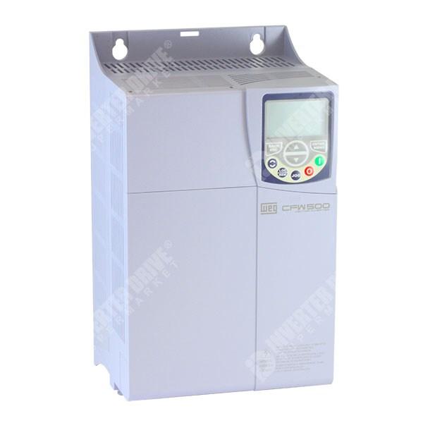 WEG CFW500 IP20 15kW 400V 3ph AC Inverter Drive, DBr, C3 EMC, No I/O