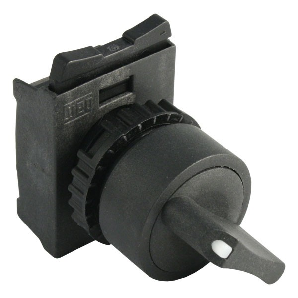 Photo of WEG CSW-CK2F45 - Selector Switch with Knob for 22mm hole, 2 Fixed Positions at 45°
