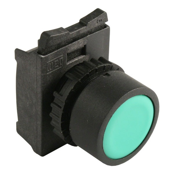 Photo of WEG CSW-BF2 - Pushbutton, Flush, Green, for 22mm hole