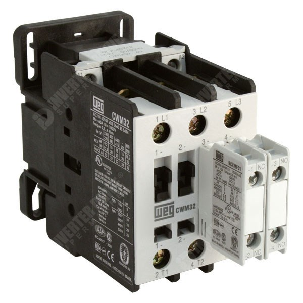 WEG CWM32 11 30D13 Contactor on single phase motor control