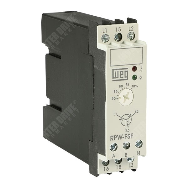 WEG Phase Sequence and Phase Loss Protection Relay RPW-FSF