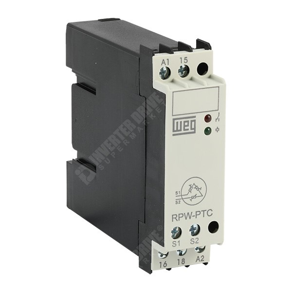 Weg thermistor protector relay rpw ptc accessories for for Thermistor motor protection relay