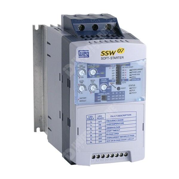 Weg Ssw 07 30a 15kw Soft Start 110v 230v Controls