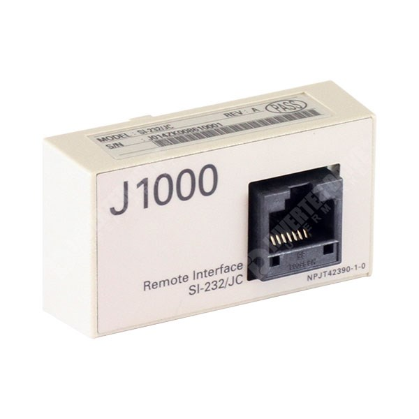 Yaskawa - SI-232/JC - J1000 RS232-C Serial Communications Interface to PC  or JVOP-182